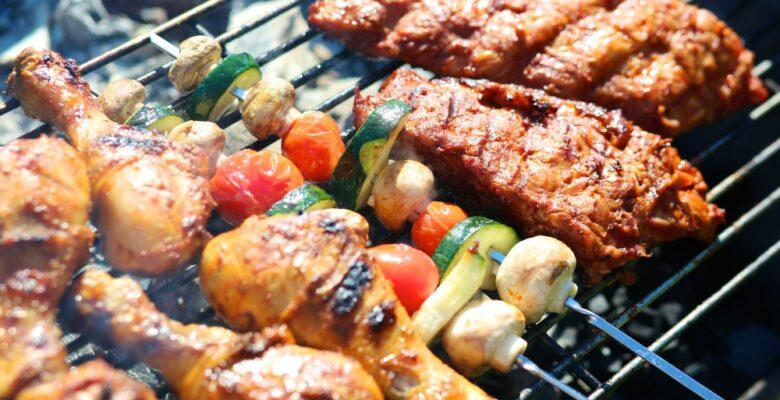 Kød der grilles